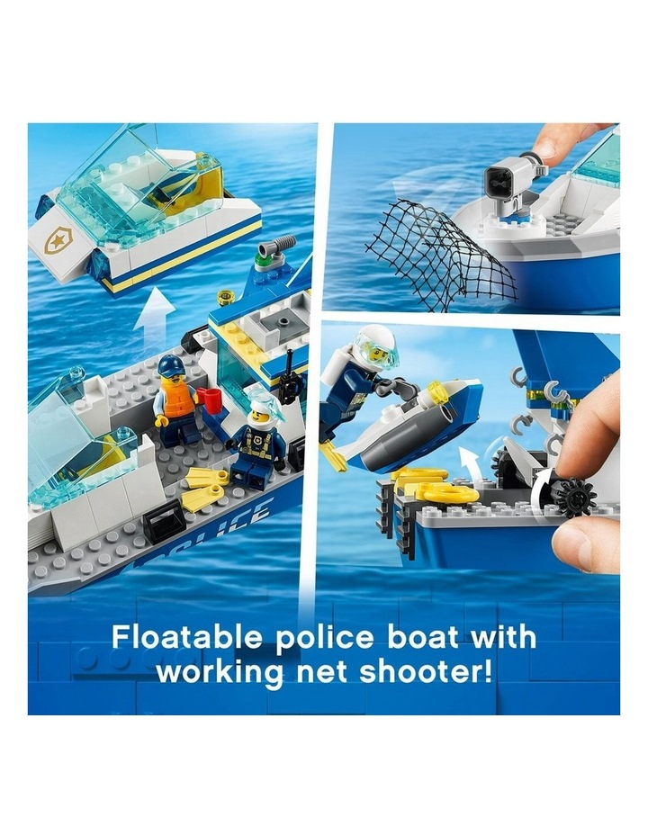 City Police Patrol Boat 60277 image 5