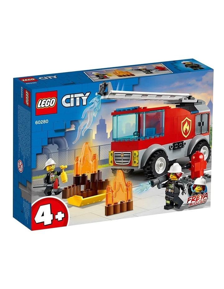 City Fire Ladder Truck 60280 image 1