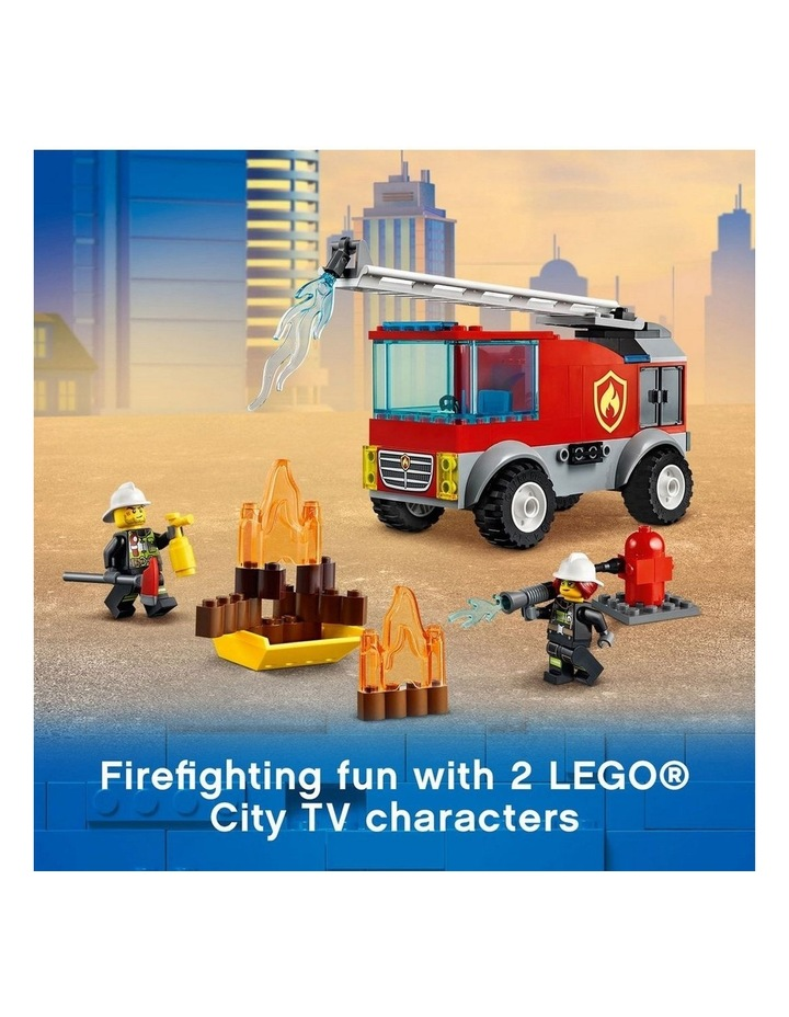 City Fire Ladder Truck 60280 image 4