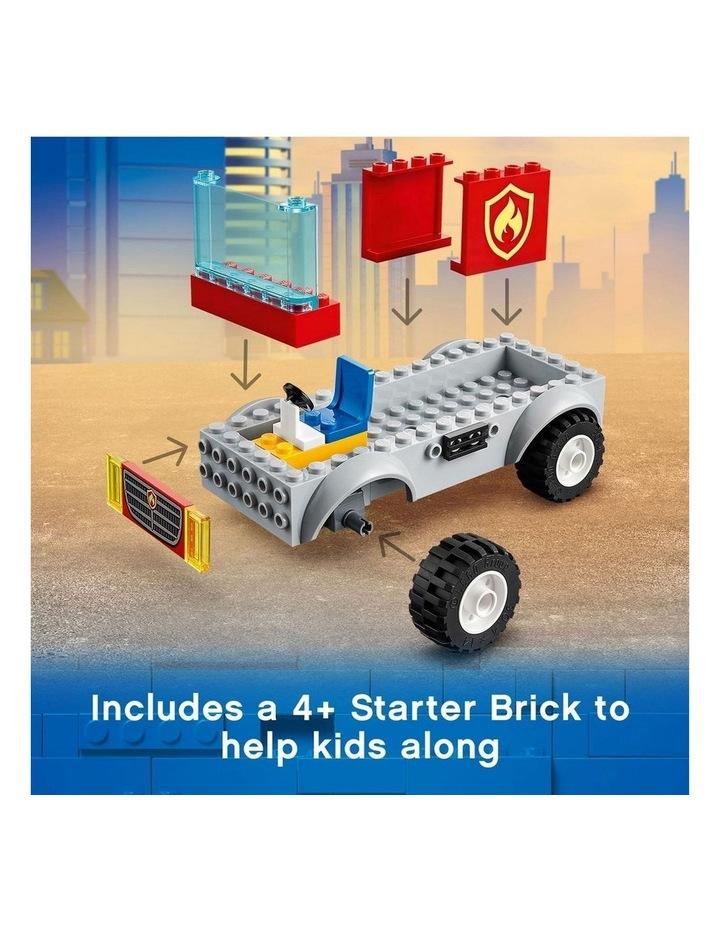 City Fire Ladder Truck 60280 image 5