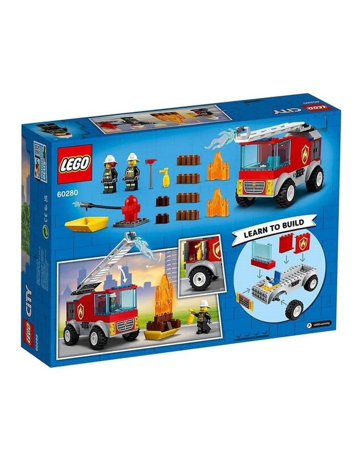 City Fire Ladder Truck 60280 image 7