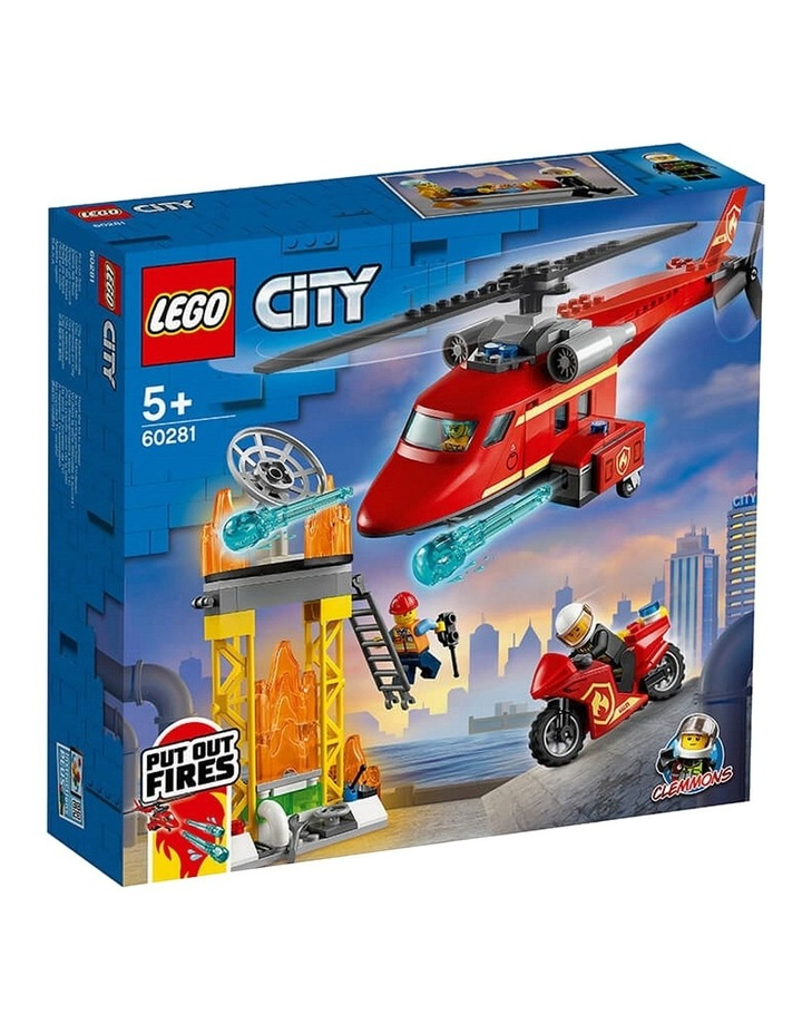 City Fire Rescue Helicopter 60281 image 1