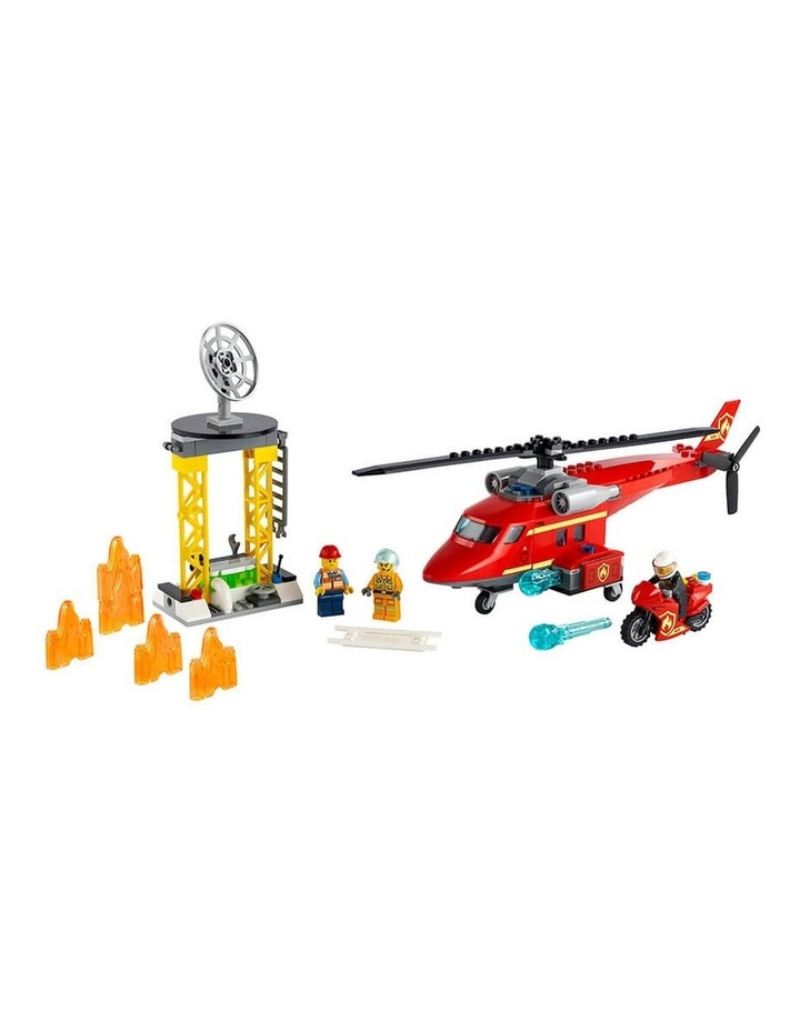 City Fire Rescue Helicopter 60281 image 2