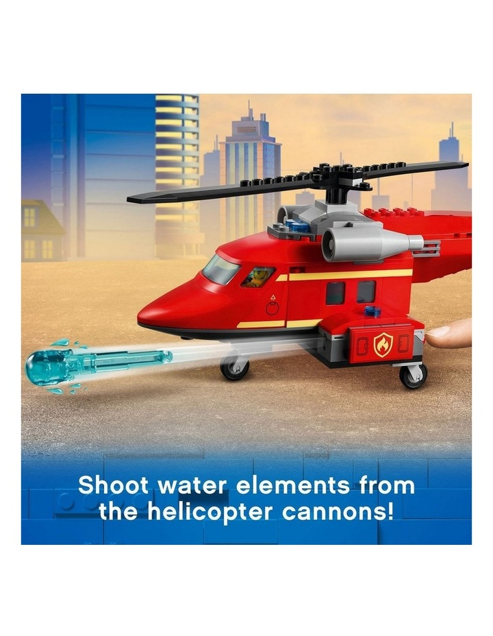 City Fire Rescue Helicopter 60281 image 5