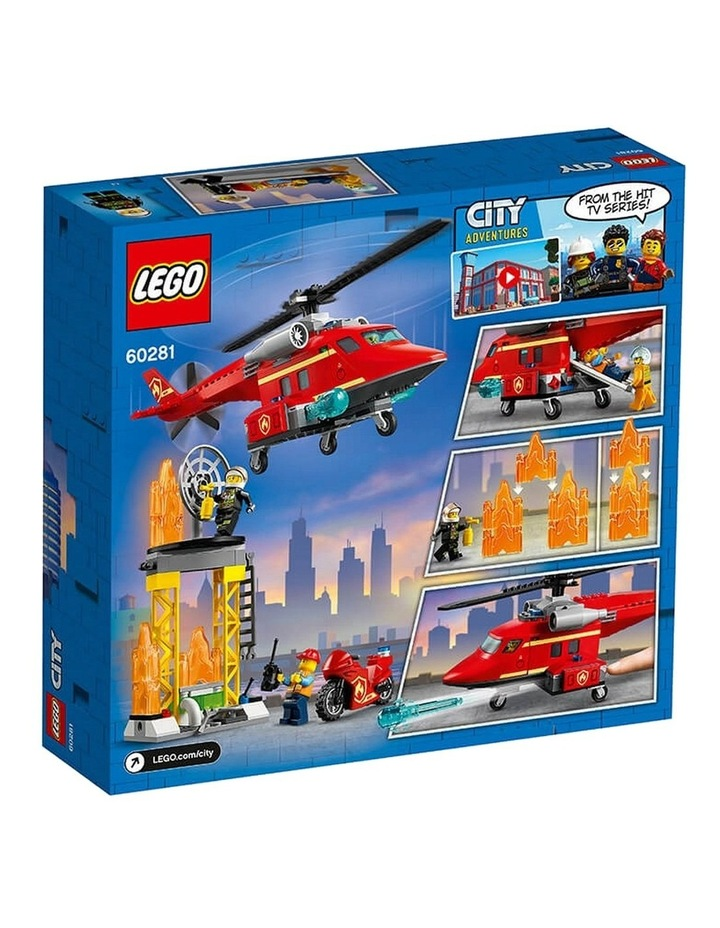 City Fire Rescue Helicopter 60281 image 7