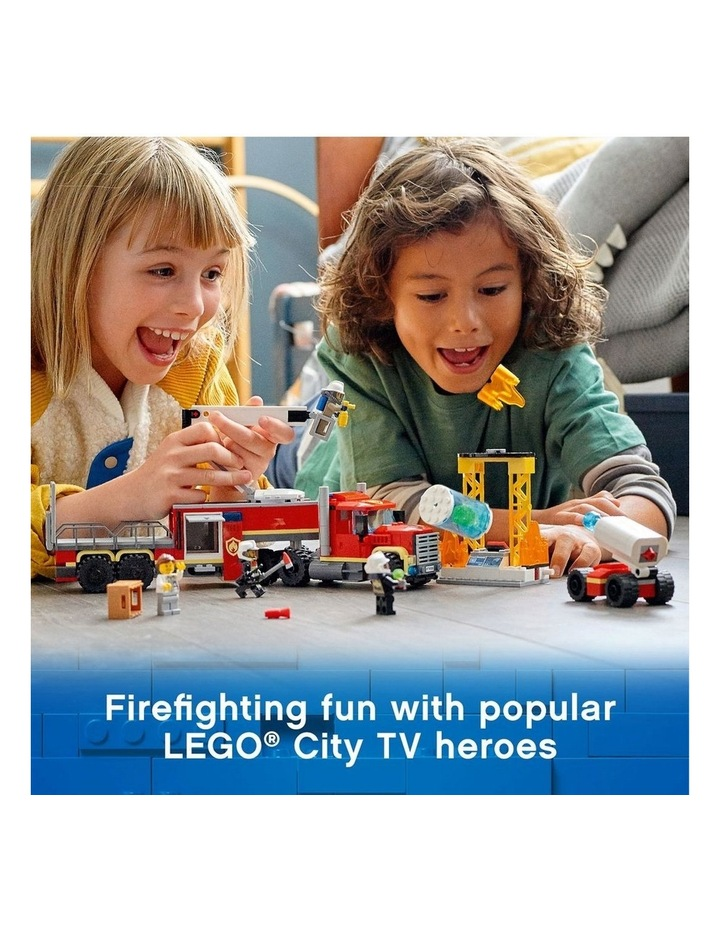 City Fire Command Unit 60282 image 3