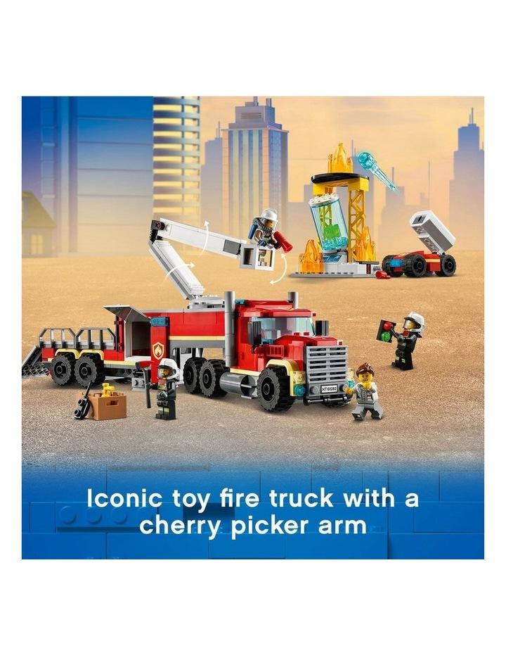 City Fire Command Unit 60282 image 4