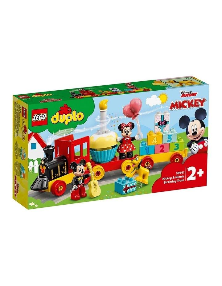 Duplo Disney Mickey&MinnieBirthdayTrain 10941 image 1