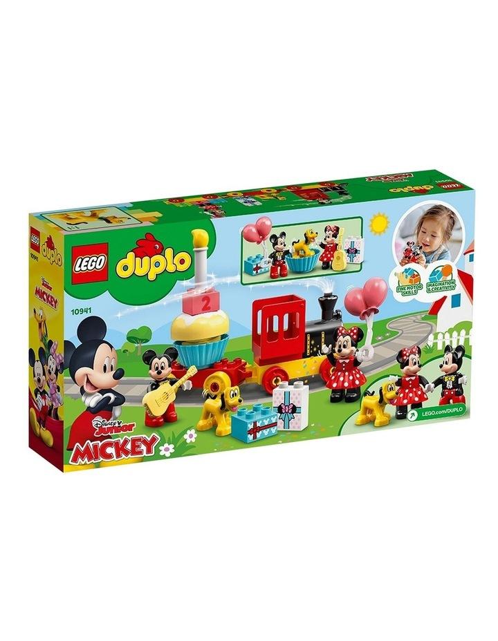 Duplo Disney Mickey&MinnieBirthdayTrain 10941 image 7