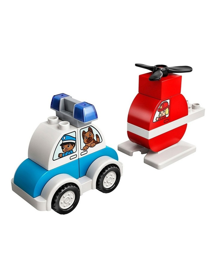 Duplo My Frist Fire Helicopter & Police Car 10957 image 2