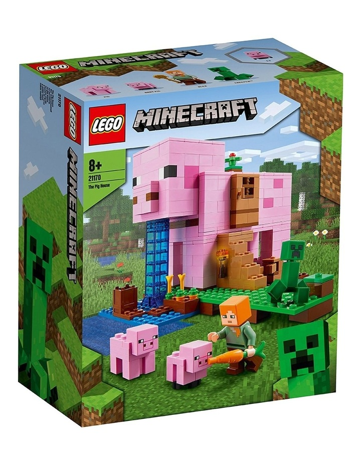 Minecraft The Pig House 21170 image 1