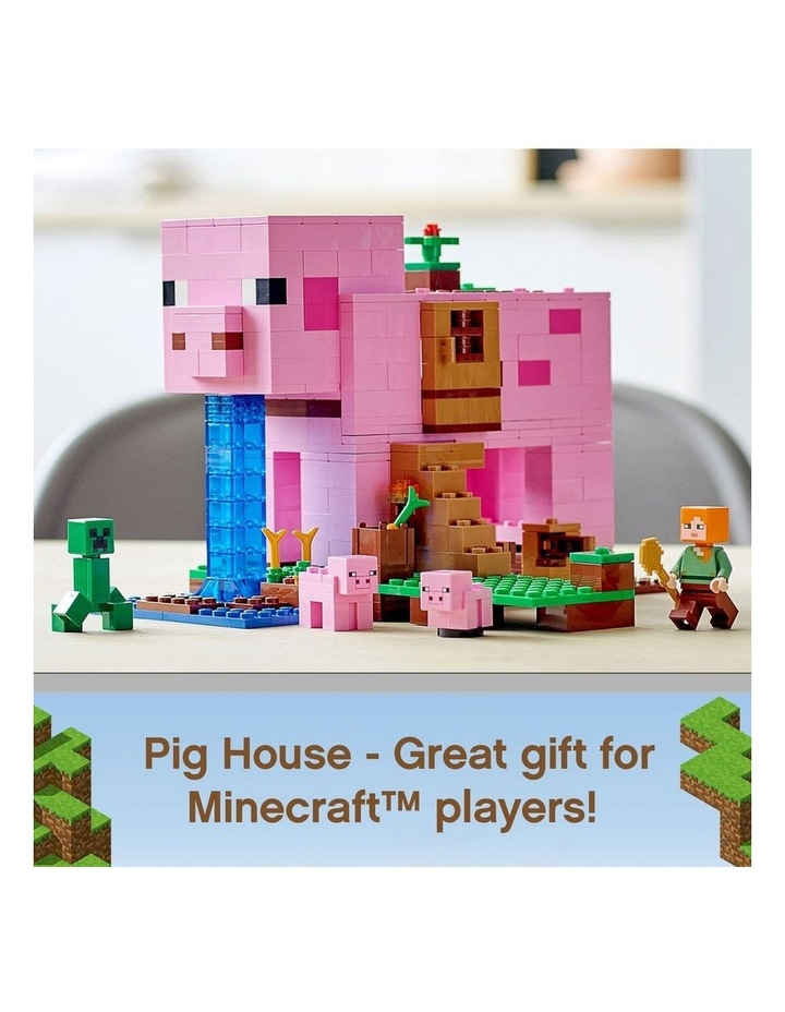 Minecraft The Pig House 21170 image 3