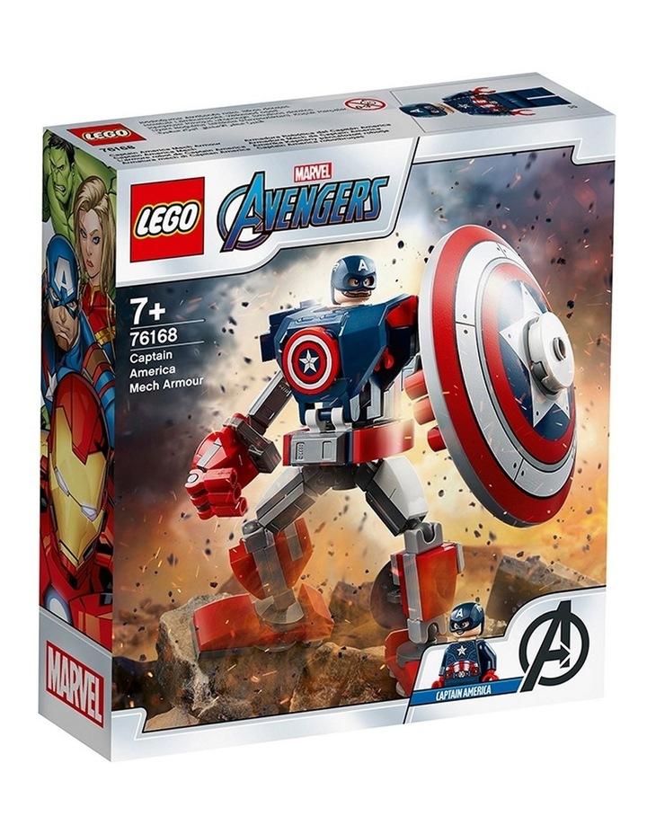 Marvel Avengers Captain America Mech Armor 76168 image 1