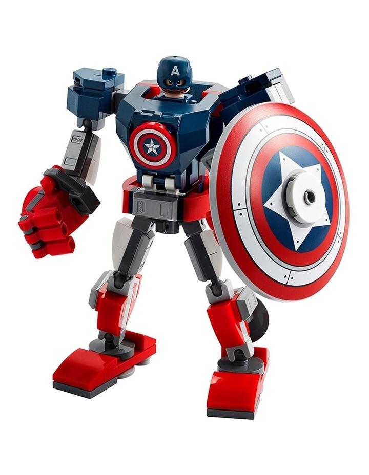 Marvel Avengers Captain America Mech Armor 76168 image 2