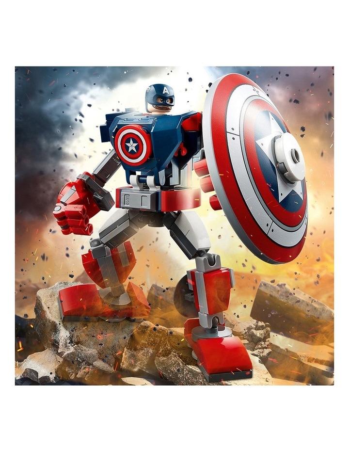 Marvel Avengers Captain America Mech Armor 76168 image 3