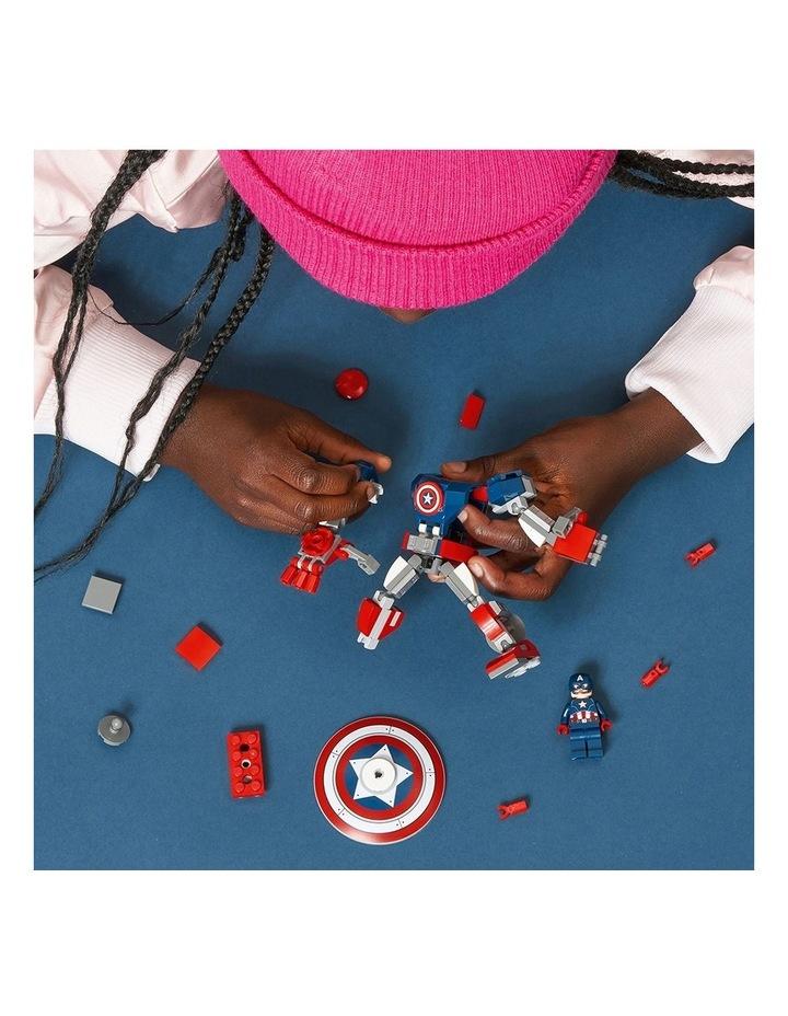 Marvel Avengers Captain America Mech Armor 76168 image 4