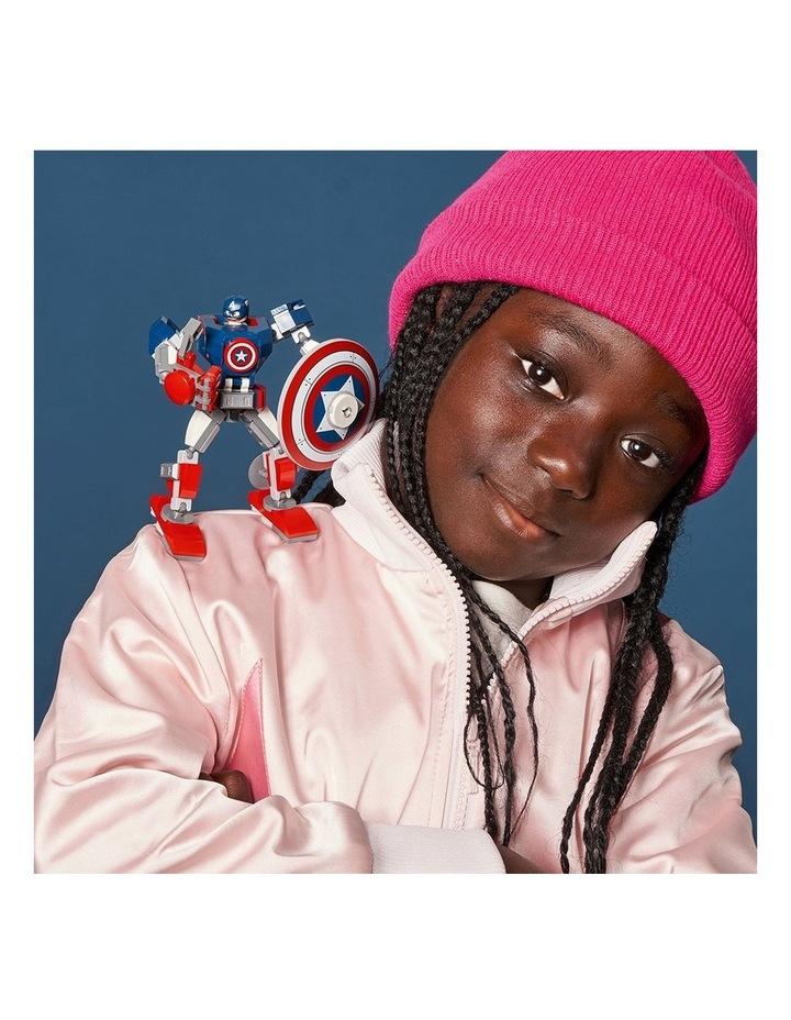 Marvel Avengers Captain America Mech Armor 76168 image 5