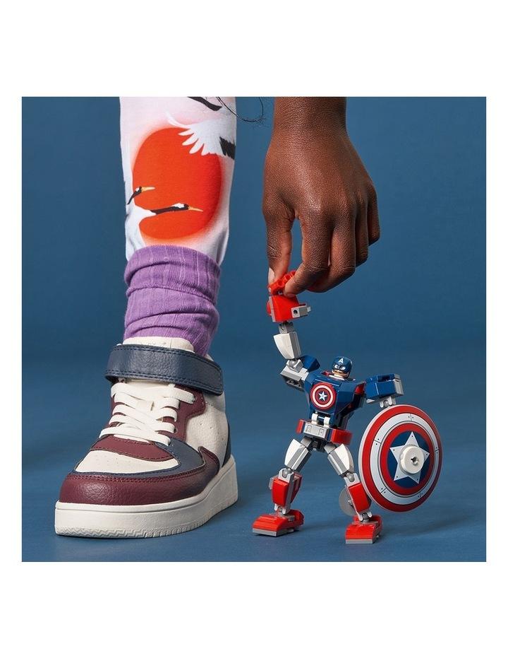 Marvel Avengers Captain America Mech Armor 76168 image 6