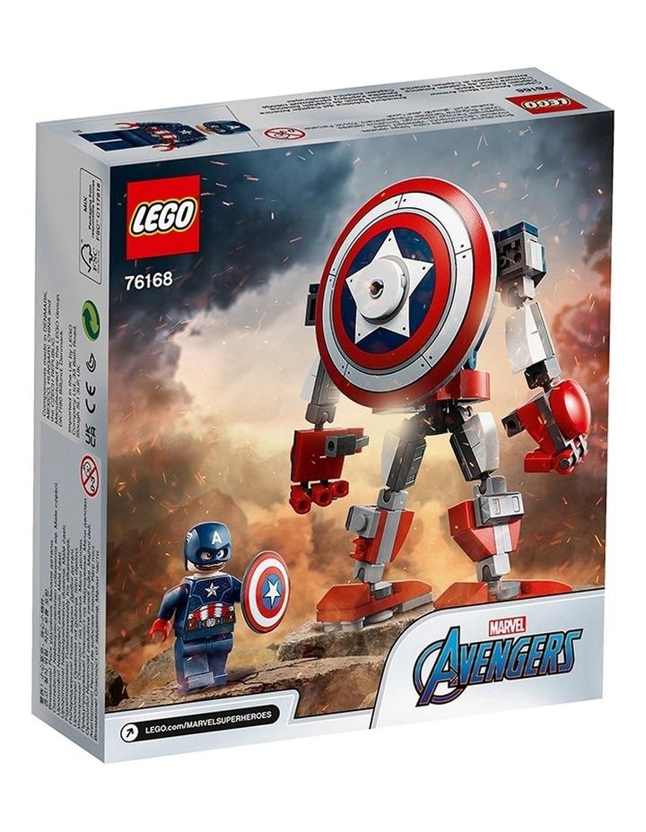 Marvel Avengers Captain America Mech Armor 76168 image 7