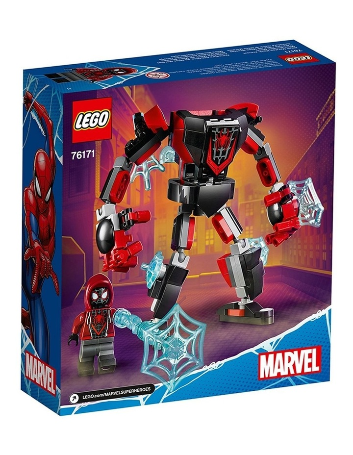 Spider-Man Miles Morales Mech Armour 76171 image 7