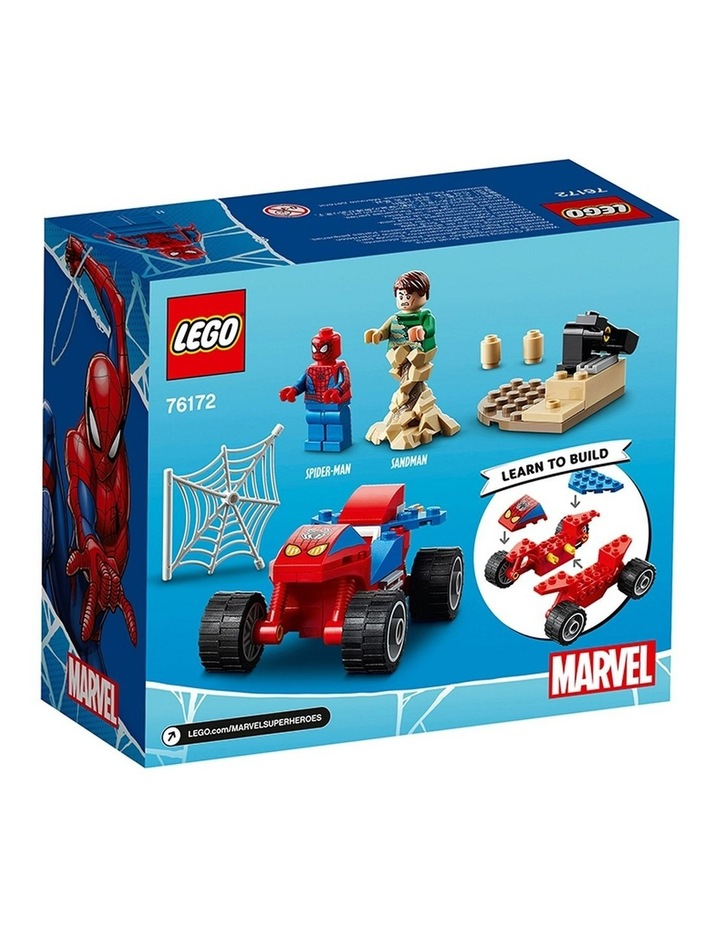 Marvel Spider-Man: Spider-Man and Sandman Showdown 76172 image 7