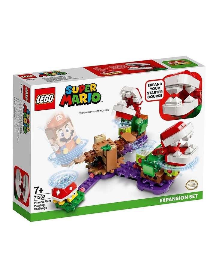 Super Mario Piranha Plant Puzzling Challenge Expansion Set 71382 image 1