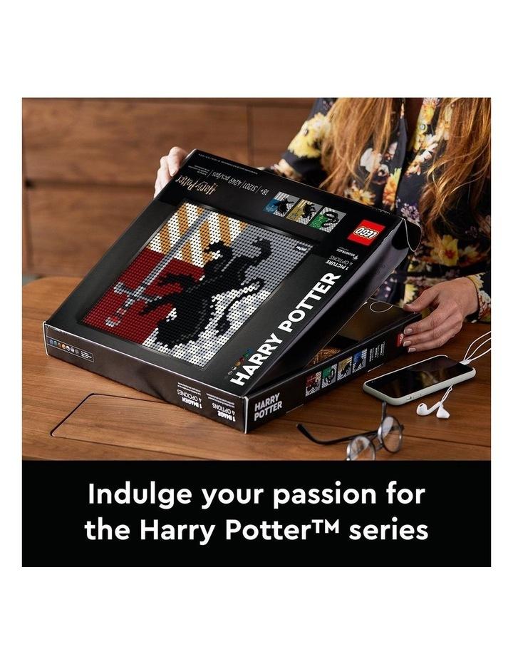 ART Harry Potter Hogwarts Crests 31201 image 4
