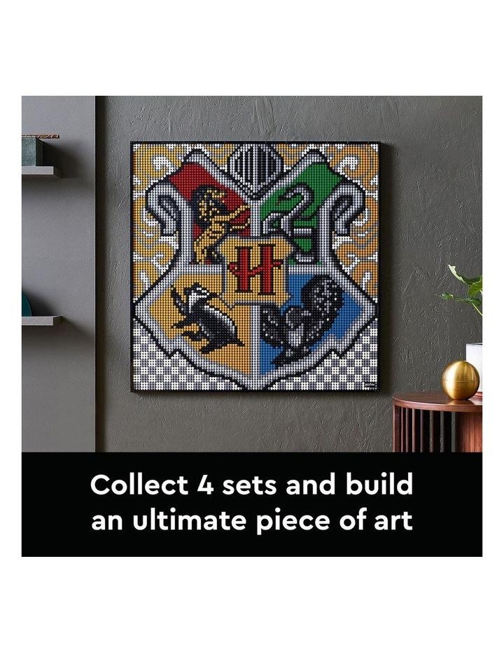 ART Harry Potter Hogwarts Crests 31201 image 6