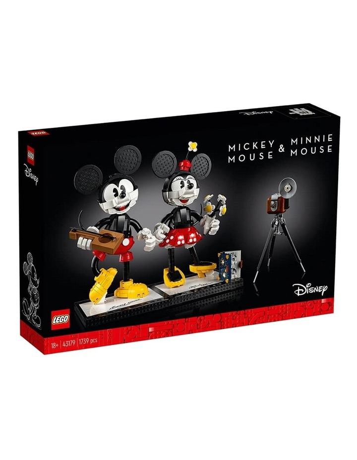 Disney Mickey Mouse & Minnie Mouse Buildable Characters 43179 image 1