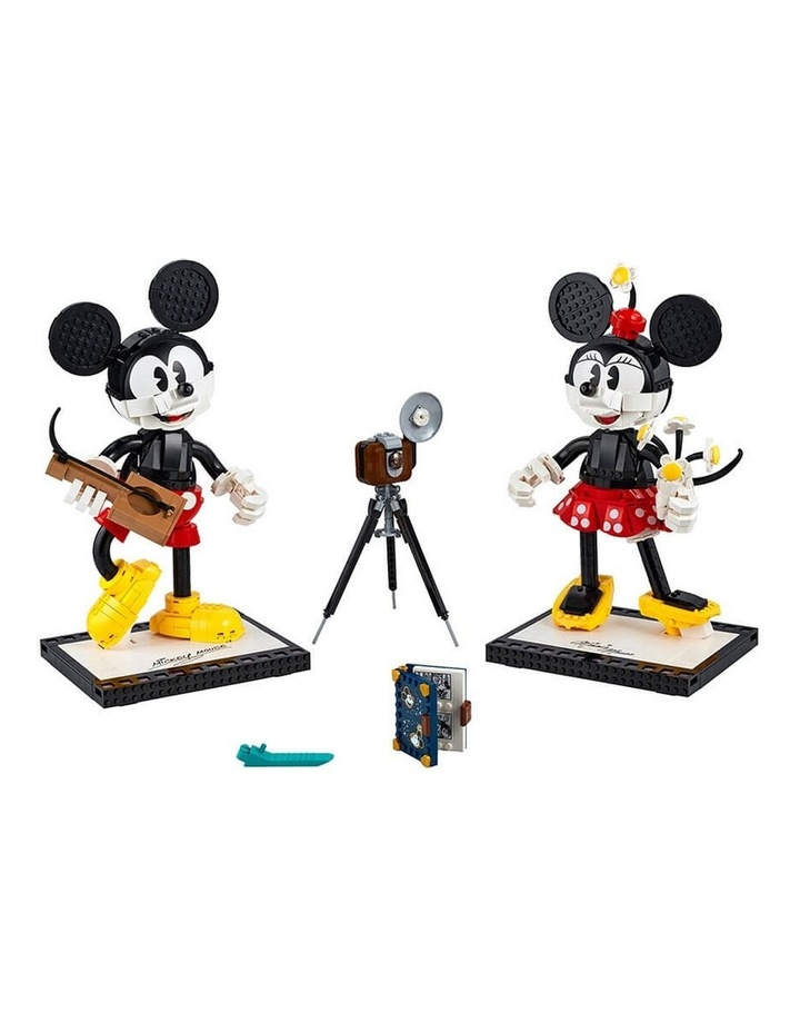 Disney Mickey Mouse & Minnie Mouse Buildable Characters 43179 image 2