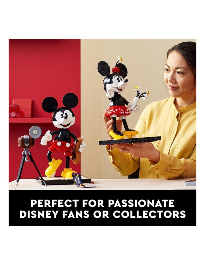 Disney Mickey Mouse & Minnie Mouse Buildable Characters 43179 image 3