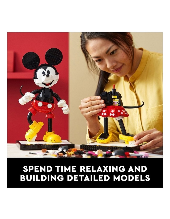 Disney Mickey Mouse & Minnie Mouse Buildable Characters 43179 image 4