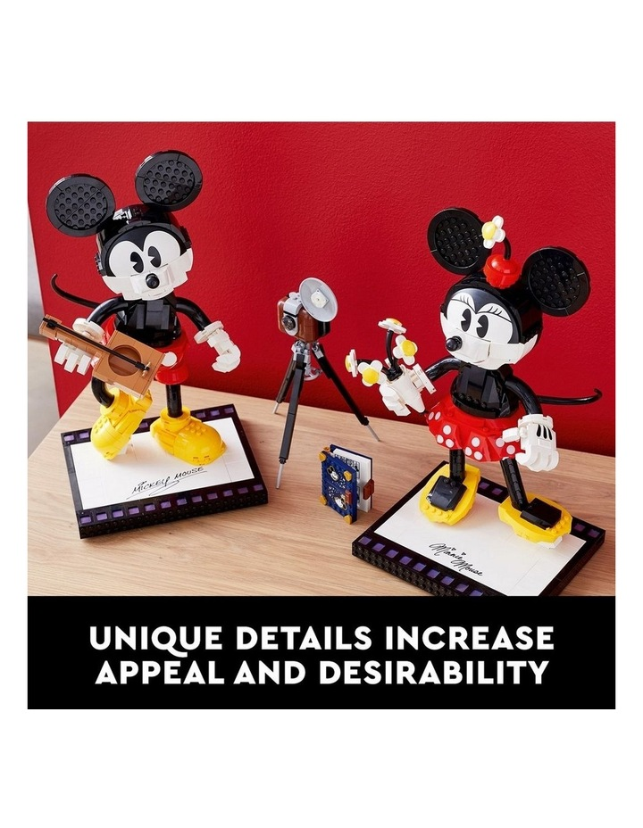 Disney Mickey Mouse & Minnie Mouse Buildable Characters 43179 image 6