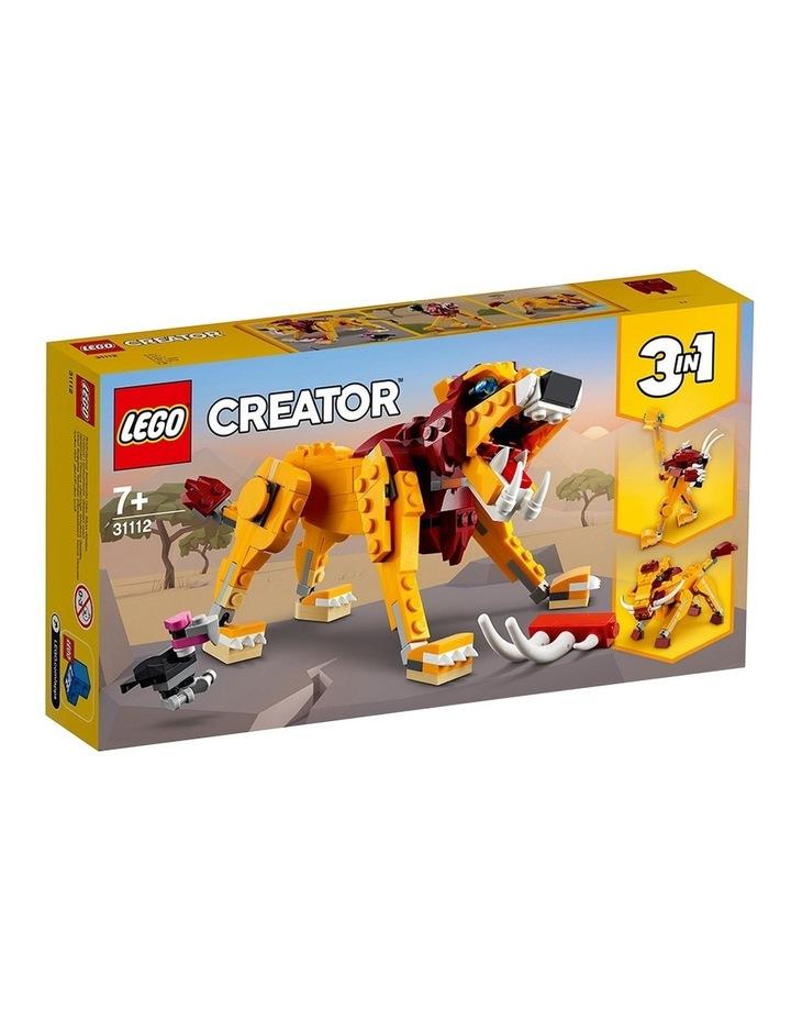 Creator 3in1 Wild Lion 31112 image 1
