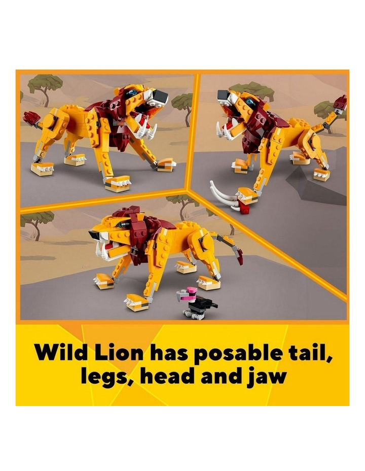Creator 3in1 Wild Lion 31112 image 5
