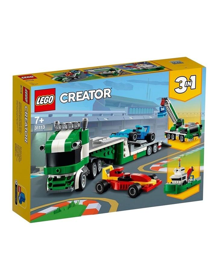 Creator 3in1 Race Car Transporter 31113 image 1