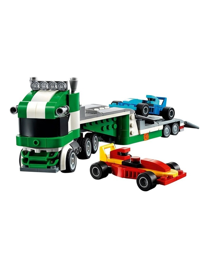 Creator 3in1 Race Car Transporter 31113 image 2