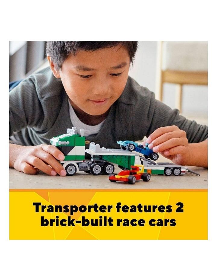 Creator 3in1 Race Car Transporter 31113 image 5