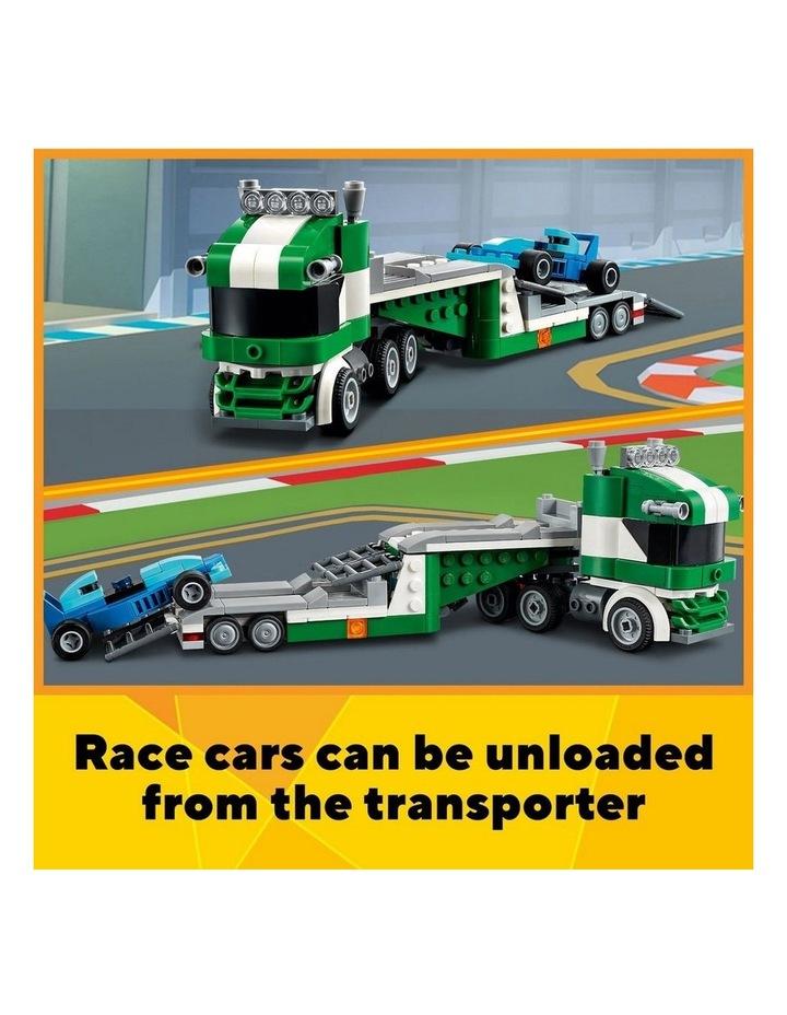 Creator 3in1 Race Car Transporter 31113 image 6
