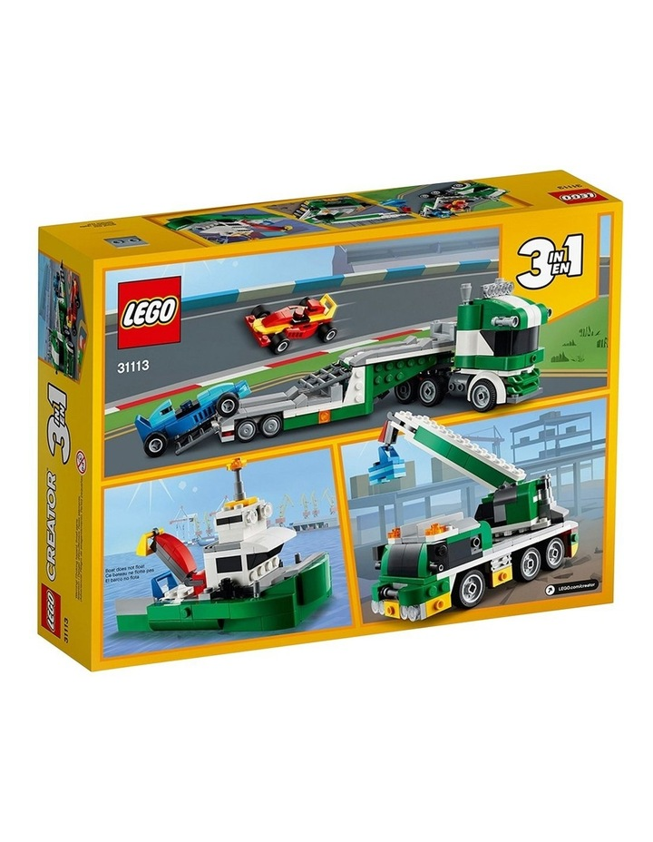 Creator 3in1 Race Car Transporter 31113 image 7