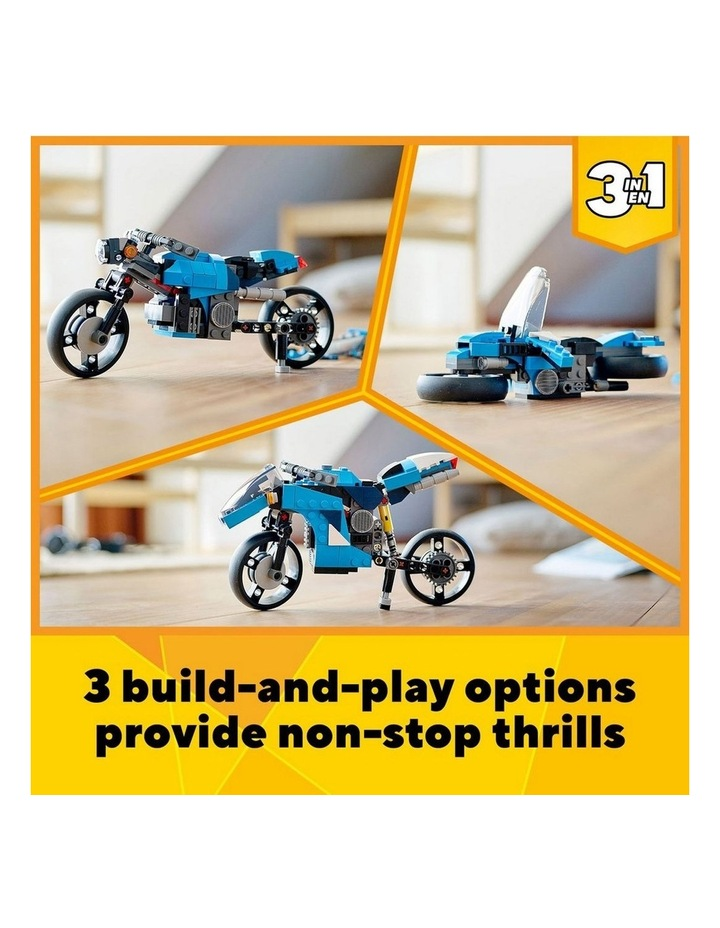 Creator 3in1 Superbike 31114 image 3