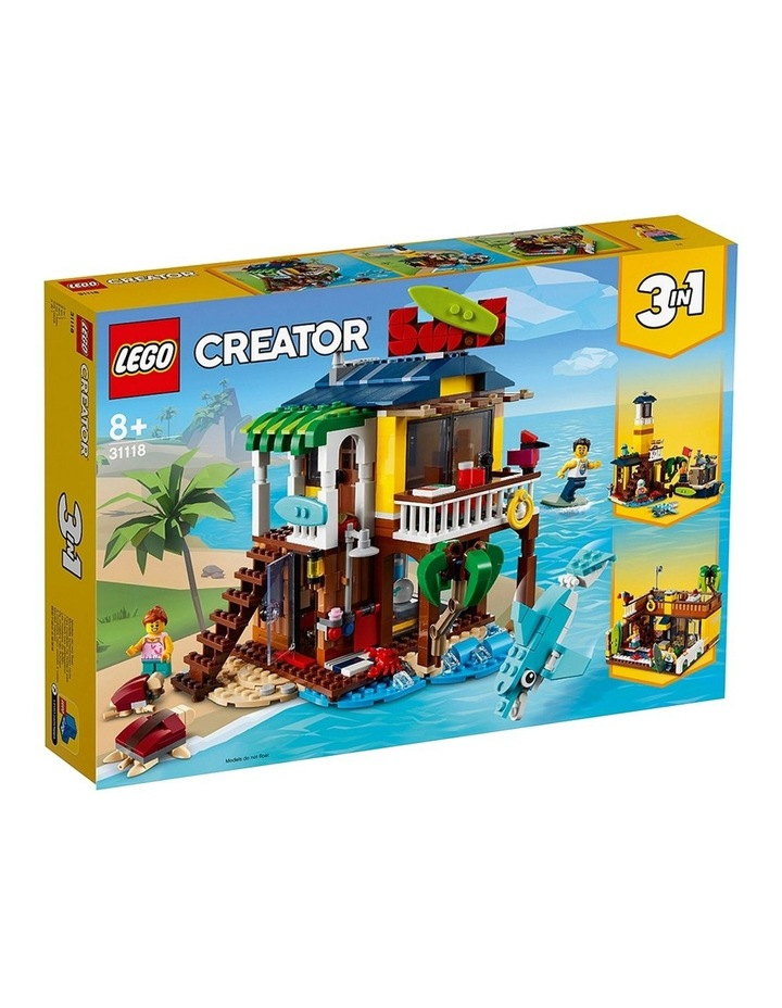 Creator 3in1 Surfer Beach House 31118 image 1