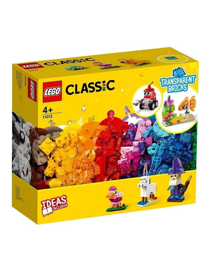 Classic Creative Transparent Bricks 11013 image 1