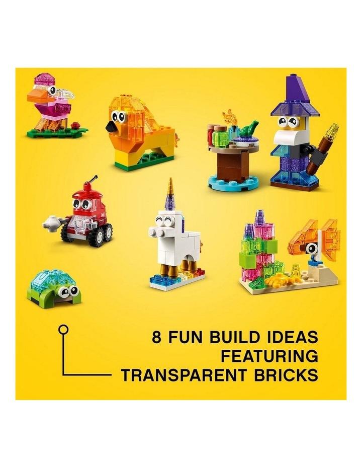 Classic Creative Transparent Bricks 11013 image 4
