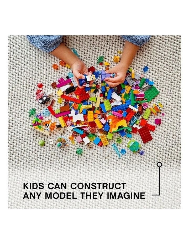 Classic Creative Transparent Bricks 11013 image 5