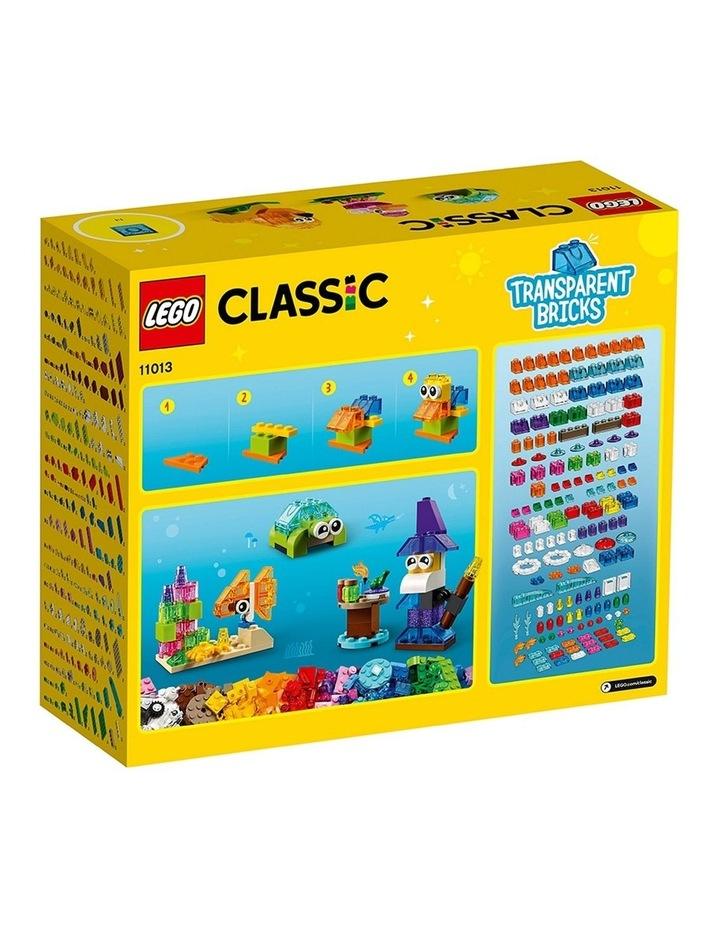 Classic Creative Transparent Bricks 11013 image 7