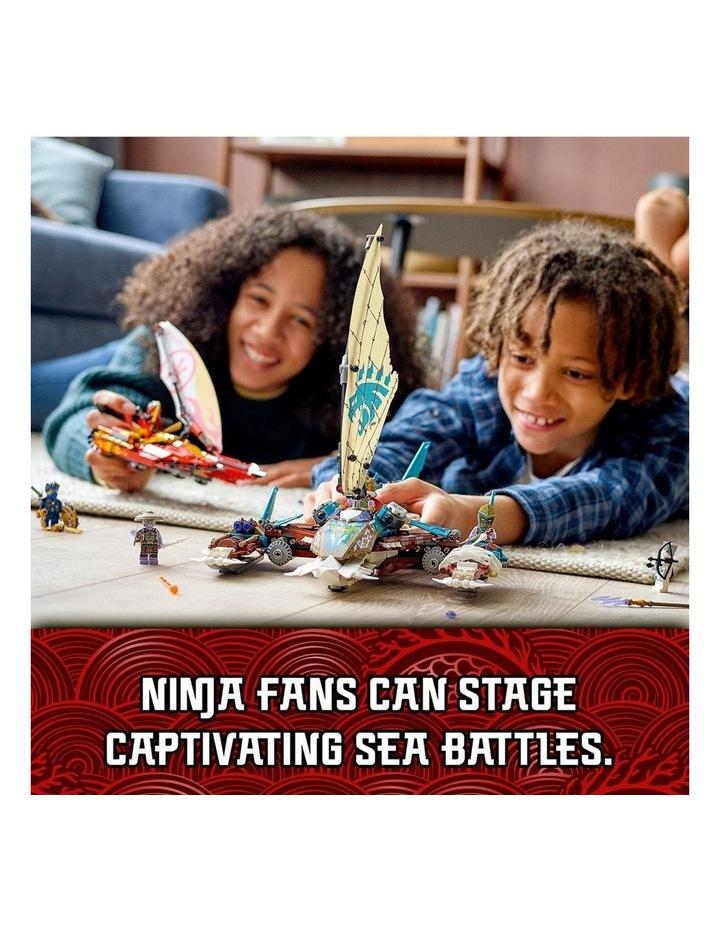 NINJAGO Catamaran Sea Battle 71748 image 3