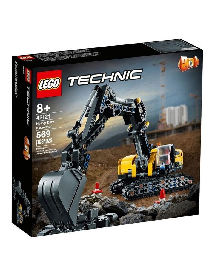 Technic Heavy-Duty Excavator 42121 image 1
