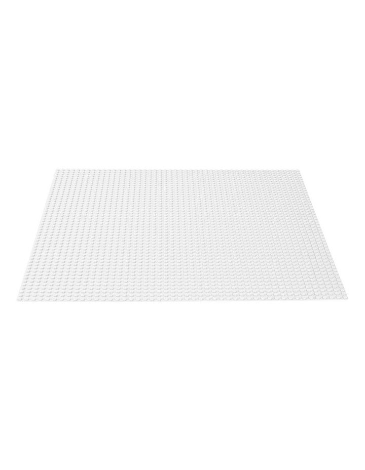 Classic White Baseplate 11010 image 2