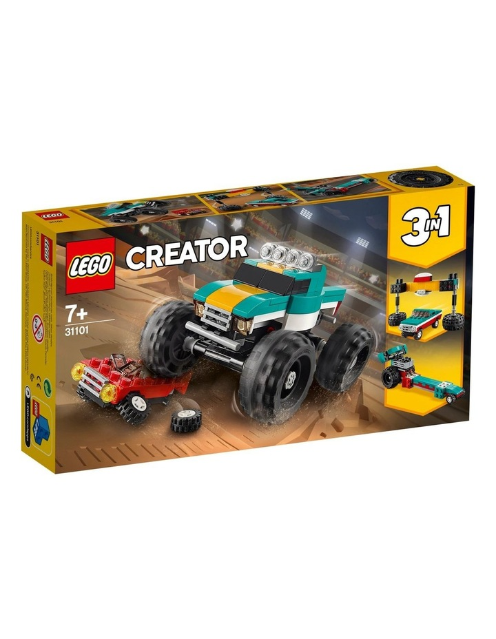 Creator 3in1 Monster Truck Toy 31101 image 1